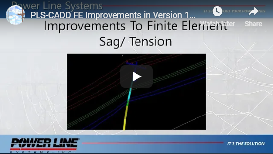 FE Sag-Tension Improvements